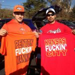 Broncos and Chiefs Shirts